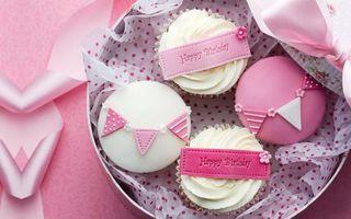 Заставки cake, birthday, поздравления