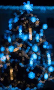 Фото бесплатно блики, круги, синий