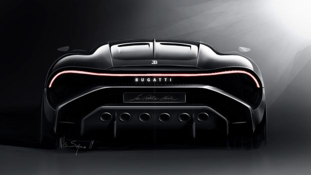 Фото бесплатно автомобили, автомобили 2019 года, Bugatti La Voiture Noire