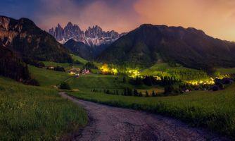 Фото бесплатно Италия, Dolomiti, Санта-Магдалена