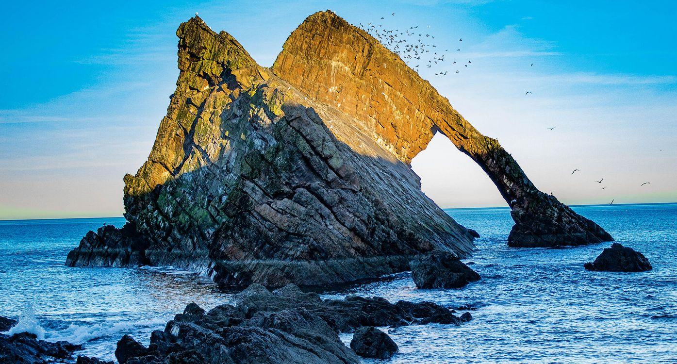 Фото бесплатно море, скалы, арка - на рабочий стол