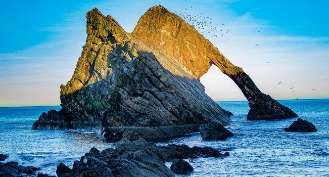 Фото бесплатно море, скалы, арка