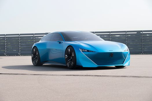 Photo free aqua, Peugeot Instinct, futuristic concept cars