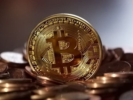 Photo free Bitcoin, coin, digital currency
