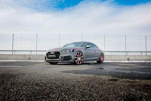 Photo free Audi Rs5, cars, gray car