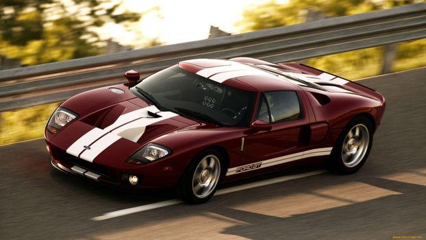 Photo free Ford GT, luxury vehicle, land transport