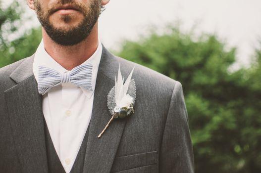 Photo free man, suit, male