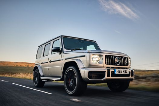 Photo free cars, Mercedes G Class, silvery