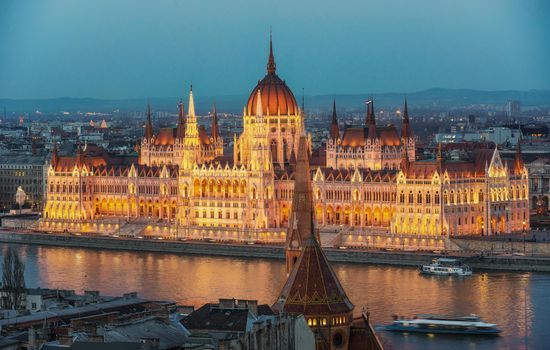 Photo free Building of the Hungarian Parliament, Budapest Building, Budapest