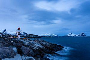 Фото бесплатно Норвегия, природа, побережье