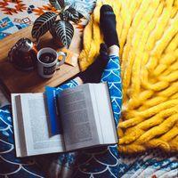 Фото бесплатно чай, книги, отдых