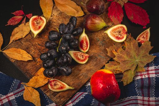 Photo free food, foliage, drops