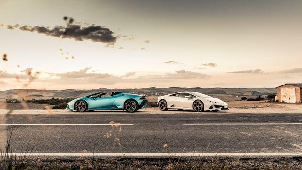 Заставки Lamborghini Huracan, Lamborghini, автомобили 2020 года