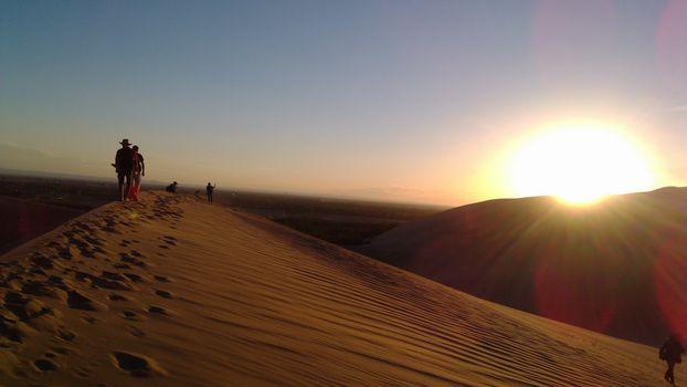 Photo free sunset, sunrise, landform