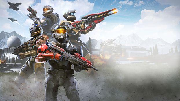 Фото бесплатно игры 2021, игры, Halo Infinite