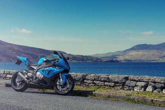 Photo free blue, BMW, Bmw S1000rr