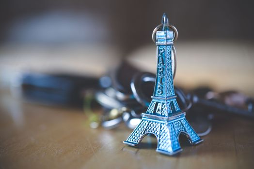 Photo free Eiffel Tower, decoration, key chain