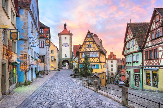 Заставки Германия, город, улица