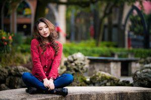 Фото бесплатно девушки, коричневые волосы, ноги