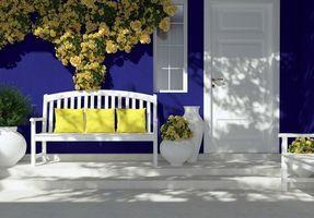 Бесплатные фото интерьер,окно,лавочки,цветы,вазы
