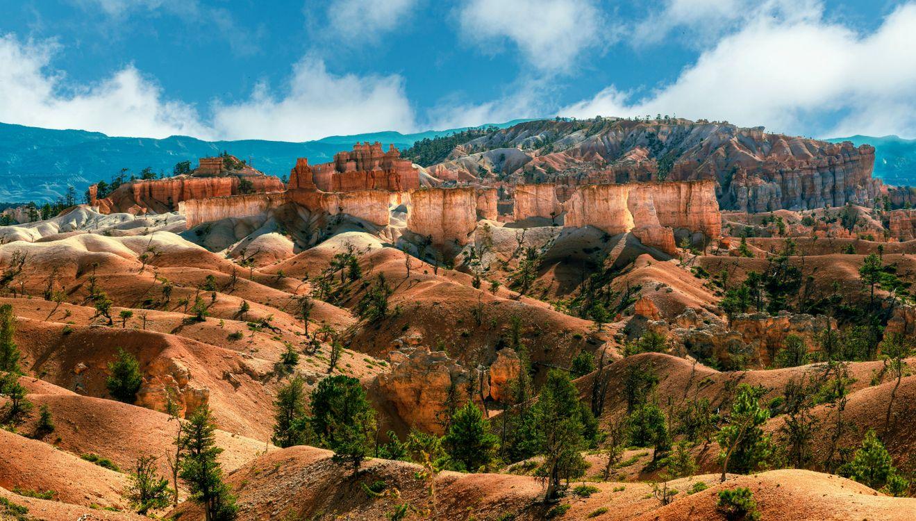 Фото парк скалистый каньон утес США - бесплатные картинки на Fonwall