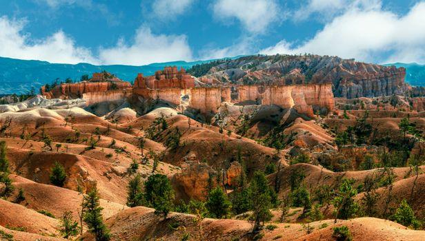 Фото бесплатно парк, скалистый каньон, утес США