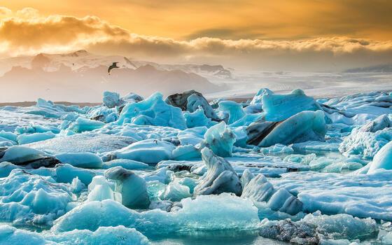 Фото бесплатно льды, озеро, айсленд дж кулс рл н