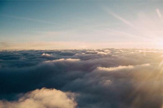 Фото бесплатно небесах, солнечный свет, закат