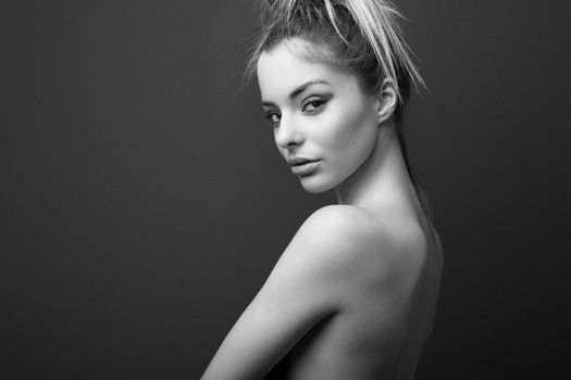 Photo free face, white, black