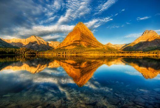 Бесплатно glacier national park, озеро - красивые фото