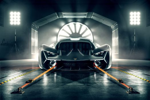 Photo free Lamborghini Terzo Millennio, 2019 cars, electric cars
