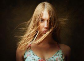 Фото бесплатно женщины, лицо портрет, блондинка