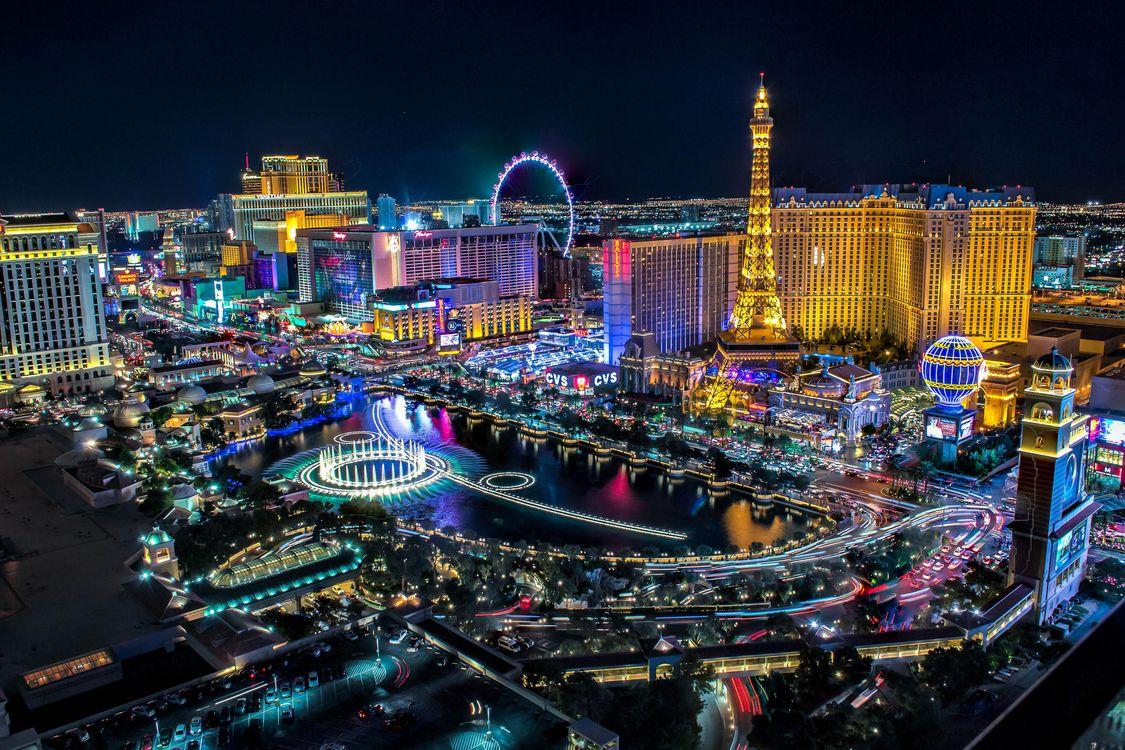 Фото бесплатно Лас Вегас, Невада, Соединенные Штаты, город