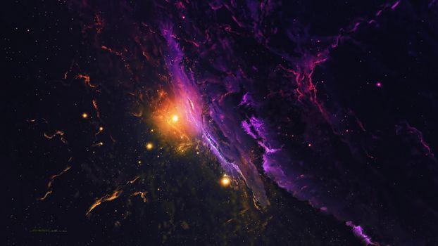 Photo free nebula, galaxy, space