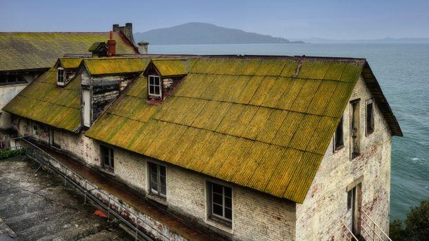 Photo free sea, wood, house