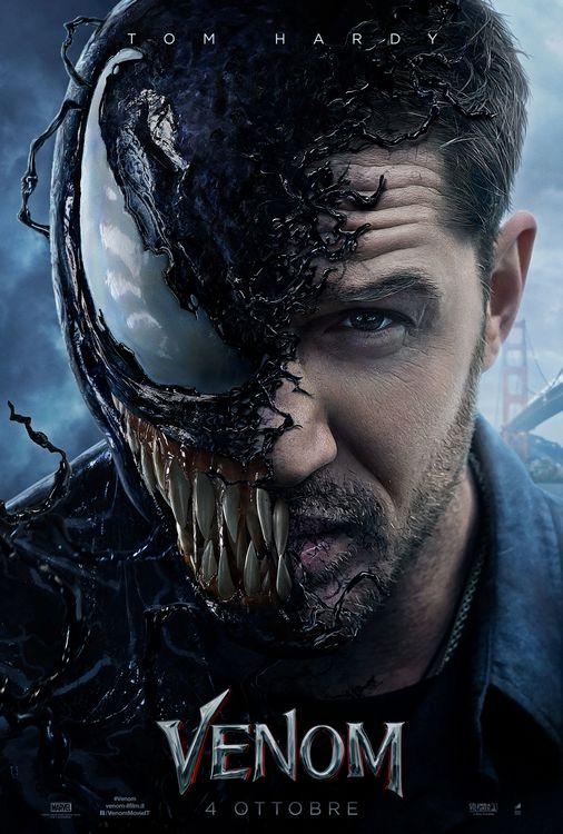 Фото бесплатно Venom, Tom Hardy, Marvel Comics, трансформация, Киноплакаты, фильмы