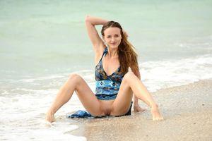 Фото бесплатно модель, песок, Виттория А