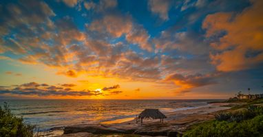 Фото бесплатно облака, побережье облака, побережье калифорнии