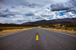 Фото бесплатно road, marking, distance