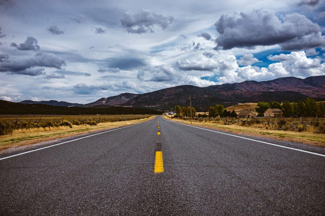 Фото бесплатно road, marking, distance, дорога, маркировка, расстояние, пейзажи