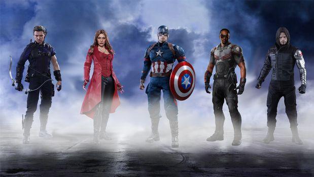 Заставки капитан америка, супергерои, произведение искусства