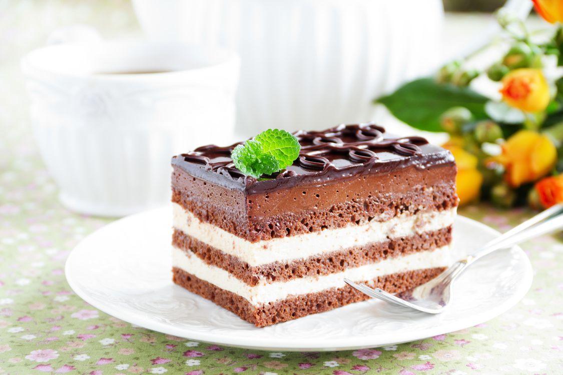 Фото бесплатно крем, шоколад, десерт, шоколадная глазурь, пирожное, сладкое, бисквит, еда - скачать на рабочий стол