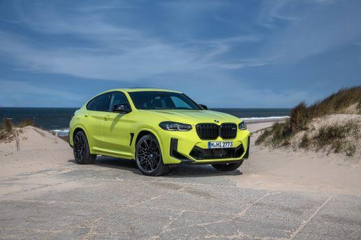 Фото бесплатно BMW металлик, жёлто-зелёный, металлические