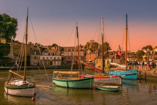 Фото бесплатно города, Франция, залив