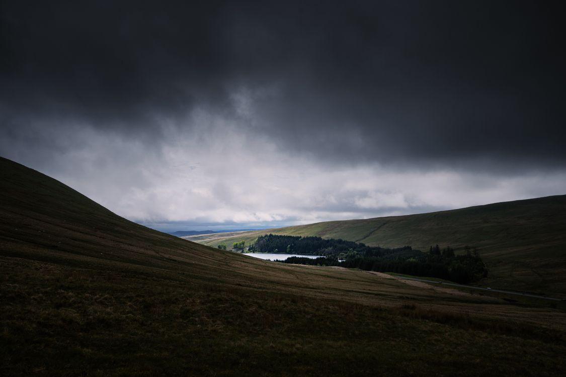 Фото нагорье озеро горизонт - бесплатные картинки на Fonwall