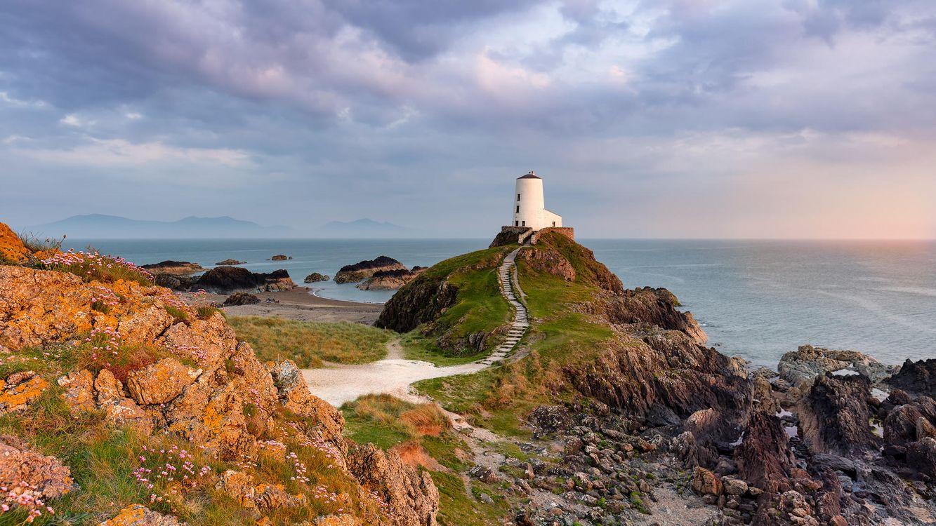 Фото бесплатно Llanddwyn Island, Великобритания, остров Лланддвин, Англси, пейзажи