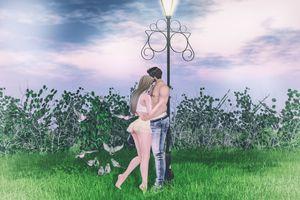 Фото бесплатно искусство, любовь, девушка