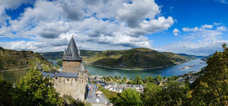 Фото бесплатно горы облака, реки Германии, горная Германия
