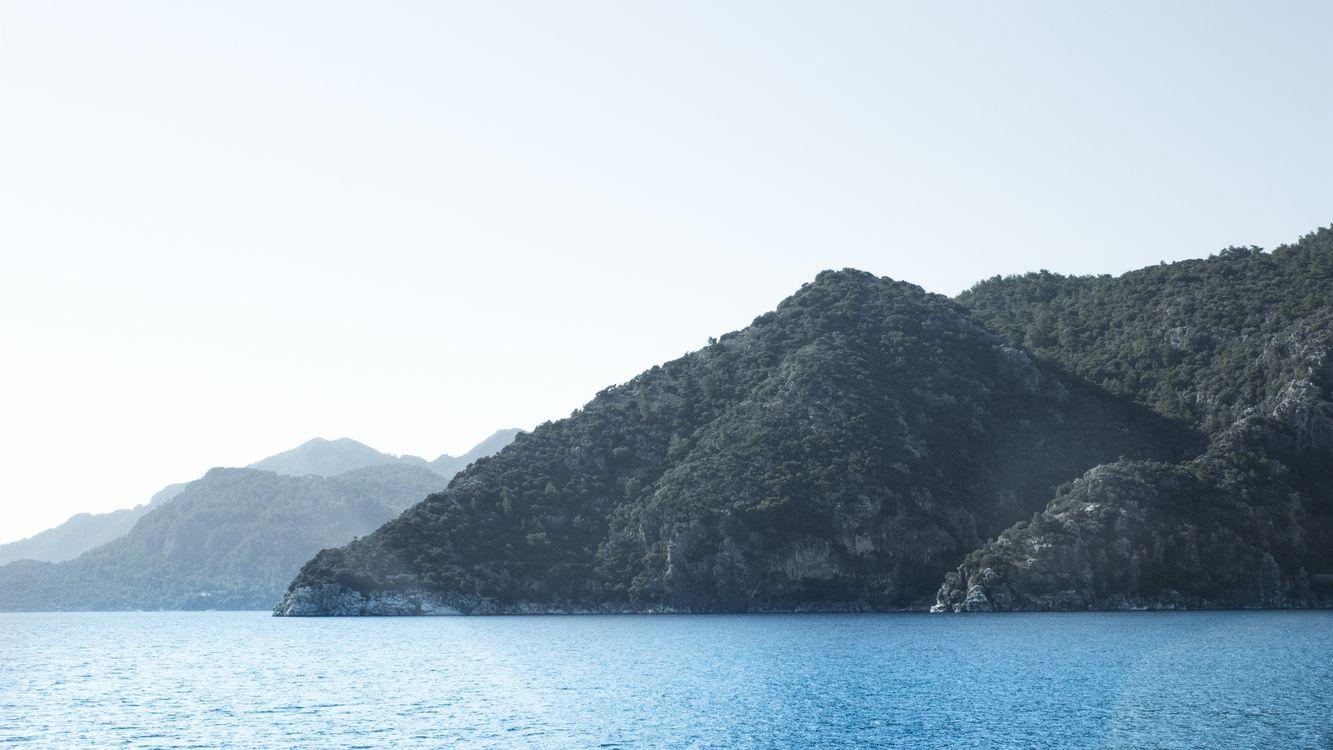 Фото бесплатно острова, море, спокойствие - на рабочий стол