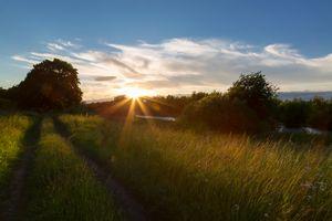 Вечерний пейзаж · бесплатное фото